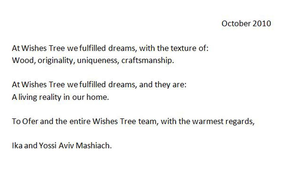 http://nl.wishes-tree.com/ika-and-yossi-aviv-mashiach/